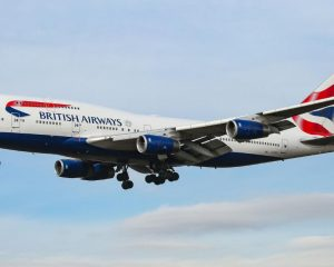 British Airways flight erases record for fastest flight from New York to London