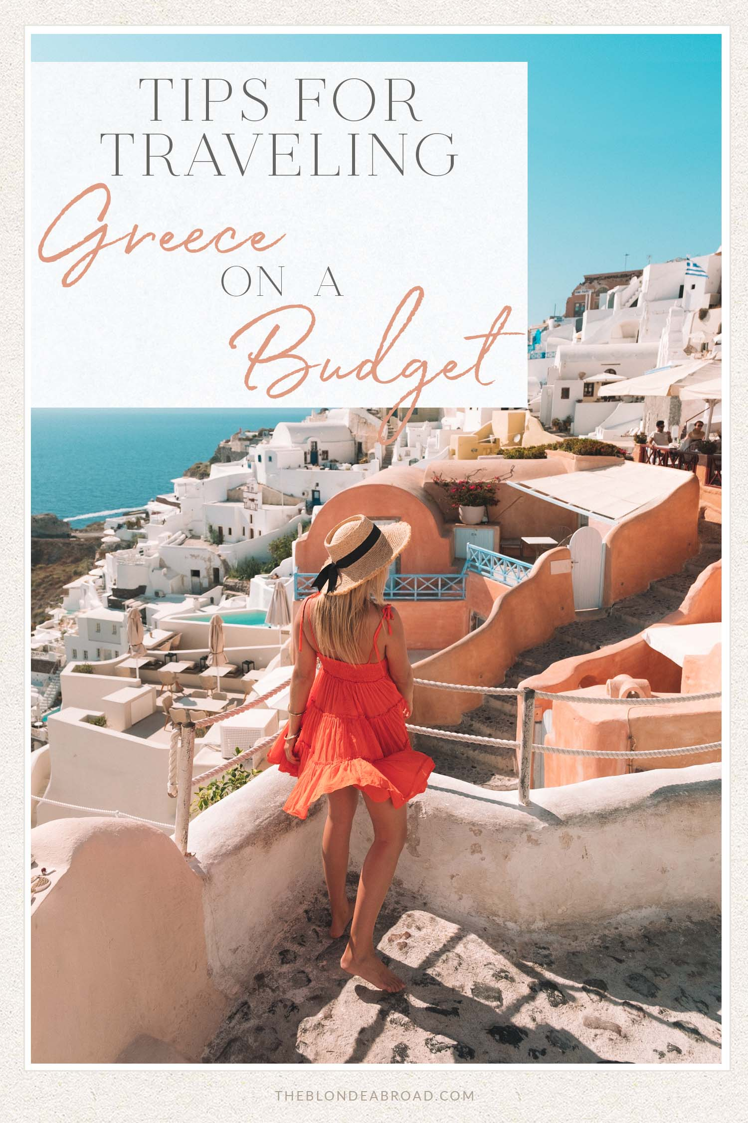budget travel tips in Greece