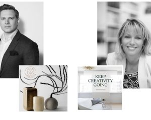 Creative campaigns supporting design with Karen Howes by Taylor Howes and Jonathan Holmes by LuxDeco
