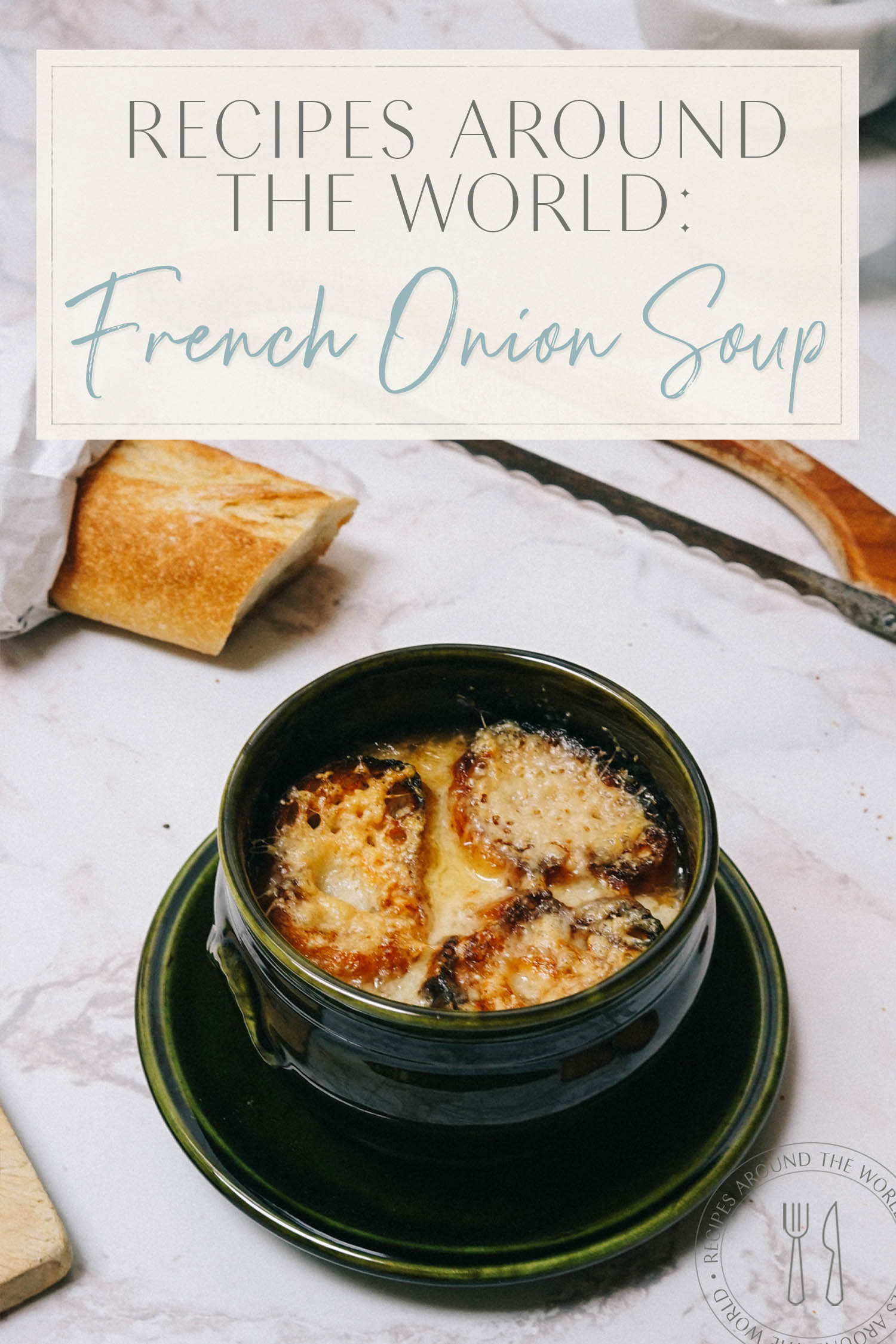 1 Recipes all over the world French onion soup
