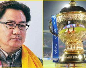 Kiren Rijiju says Indian government to decide IPL fate, not cricket