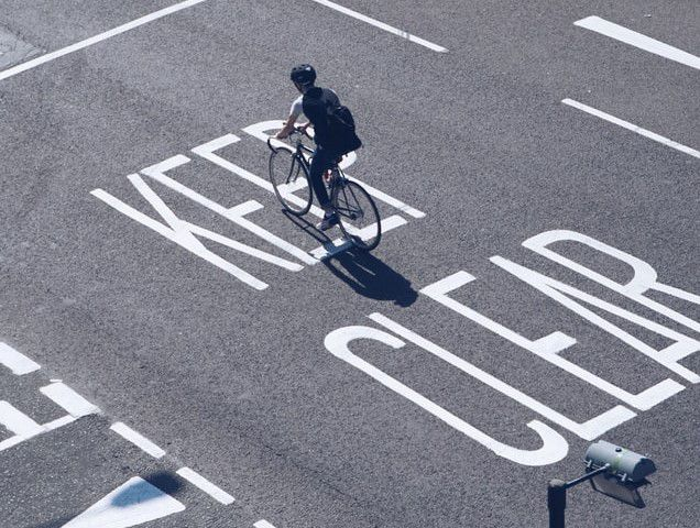 Avoid the package and try a solo ride. And practice cycling safety while you're at it.