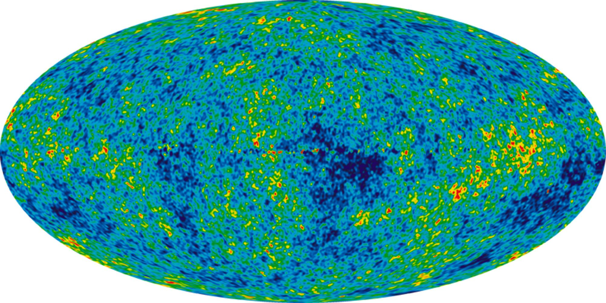 The remnants of conditions in the early universe, such as cosmic microwave background radiation, gave scientists an accurate measure of the mass of the inverted mass of baryons.